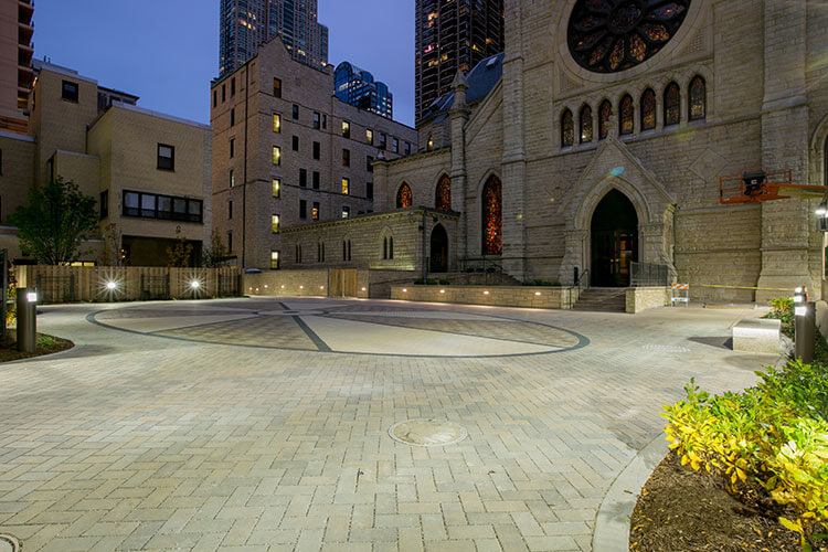 Religious | Holy Name Courtyard